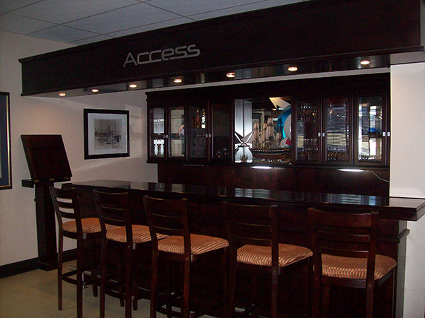 Bar for boardroom